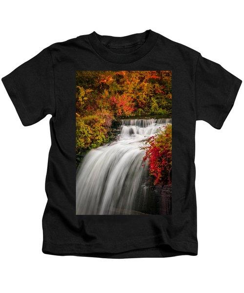 Fall At Minnehaha Falls Kids T-Shirt