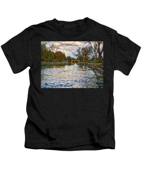 Yahara River, Madison, Wi Kids T-Shirt