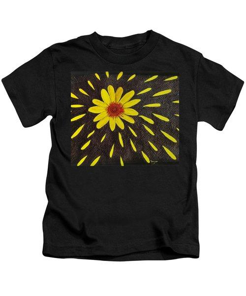 Yellow Daisy Kids T-Shirt