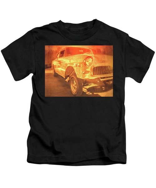 Yellow Gasser Kids T-Shirt