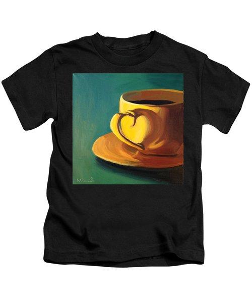 Yellow Java Kids T-Shirt