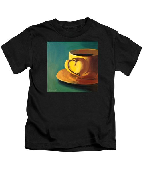 Yellow Java Kids T-Shirt