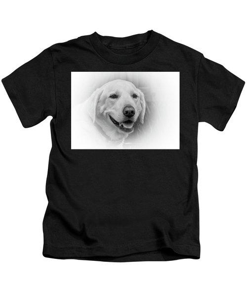 Yellow Labrador Kids T-Shirt