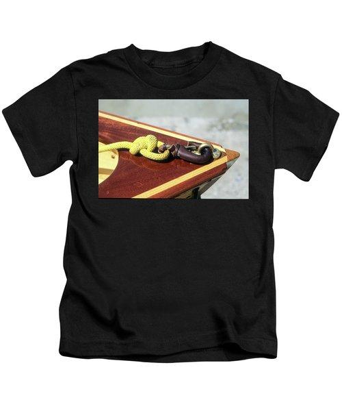 Yellow Line Kids T-Shirt
