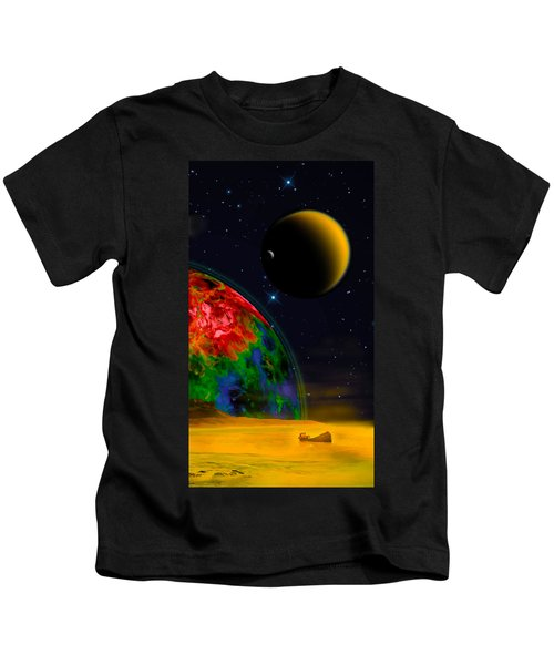 Yellow Sea On Kepler 186d Kids T-Shirt