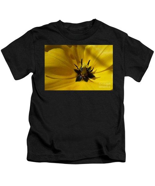 Yellow Tulip 1 Kids T-Shirt