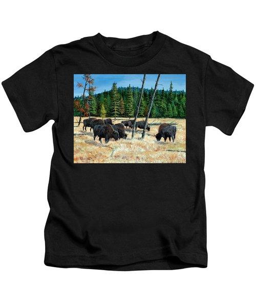 Yellowstone Grazers Kids T-Shirt