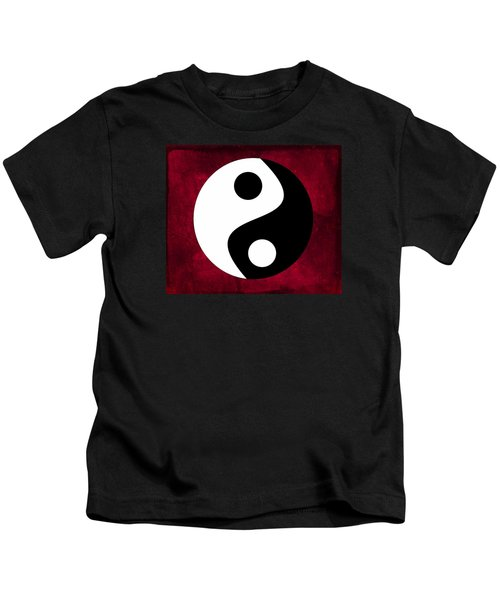Yin And Yang Kids T-Shirt