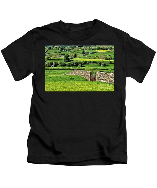 Yorkshire Dales Landscape Kids T-Shirt
