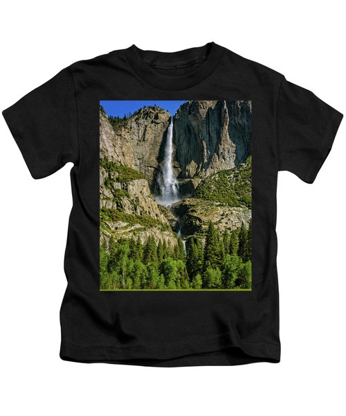 Yosemite Falls Kids T-Shirt