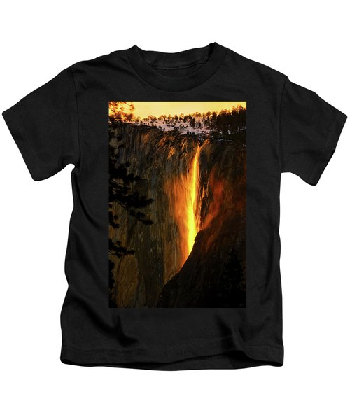 Yosemite Firefall Kids T-Shirt