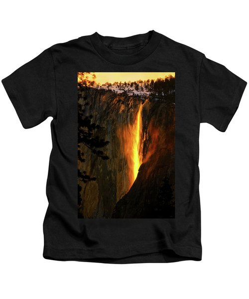 Yosemite Firefall Kids T-Shirt