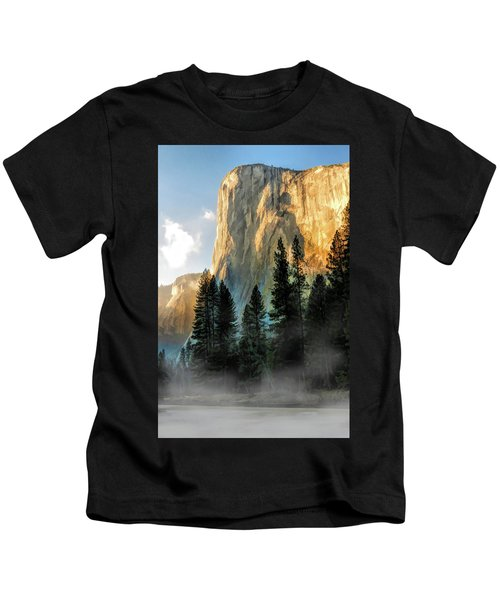 Yosemite National Park El Capitan Kids T-Shirt