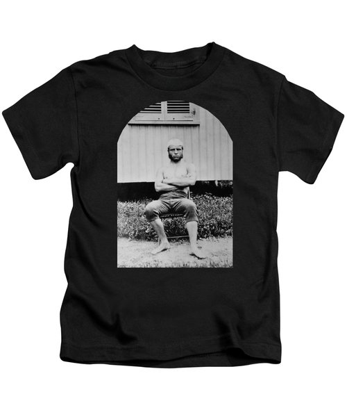 Young Teddy Roosevelt Shirtless - 1879 Kids T-Shirt