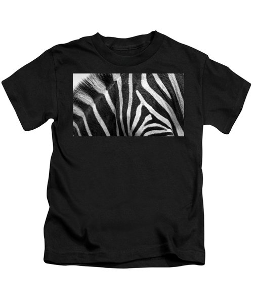 Zebra Stripes Kids T-Shirt