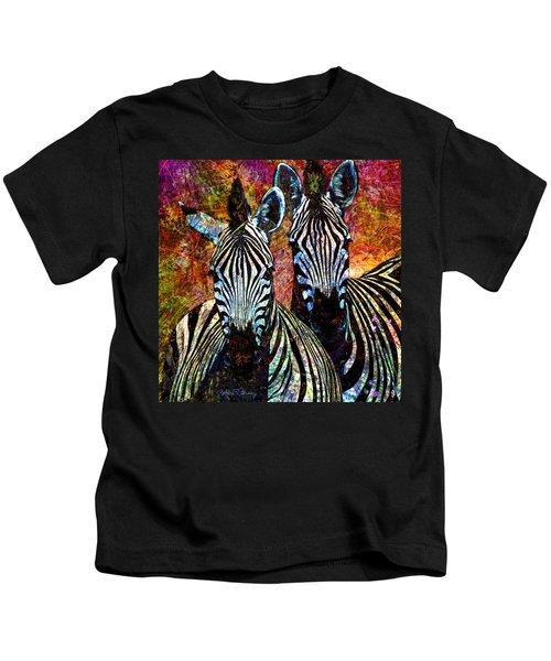 Zebras Kids T-Shirt