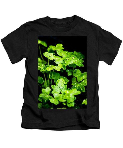Zen Waterdrops Kids T-Shirt