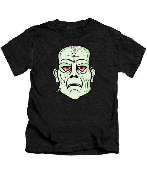 Zombie Head Kids T-Shirt