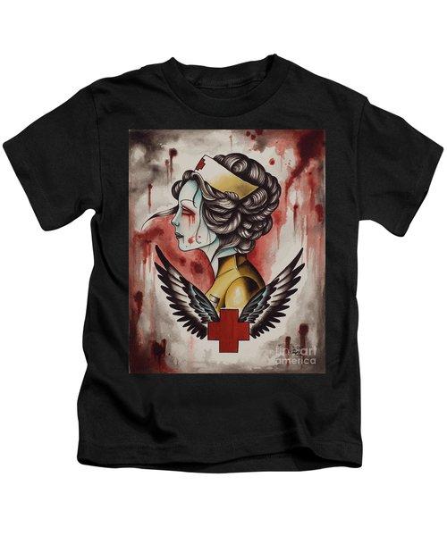 Zombie Nurse Kids T-Shirt