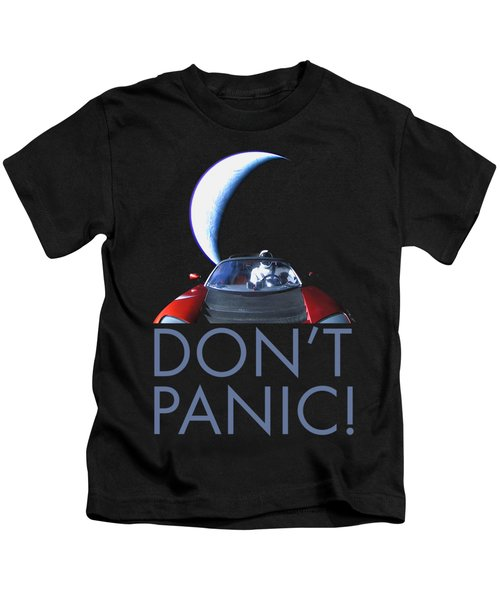 Don't Panic Starman Kids T-Shirt