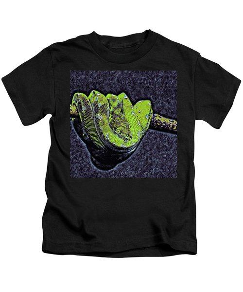 Emerald Tree Boa Kids T-Shirt
