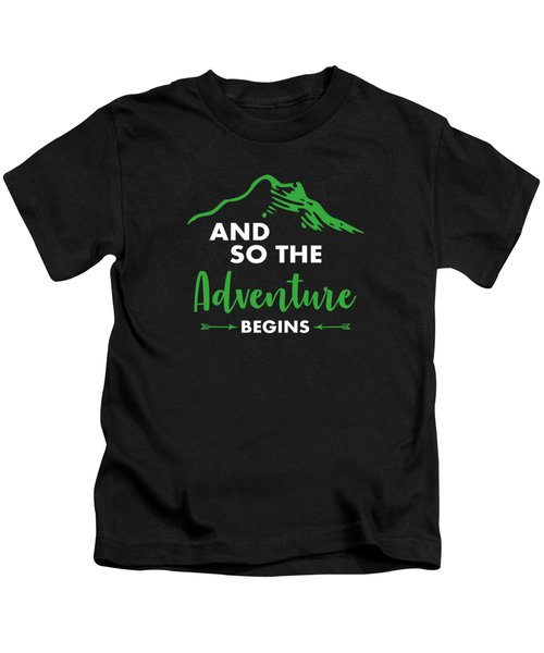 Funny Hiking Mountains Alps Nature Hiker Gift Kids T-Shirt