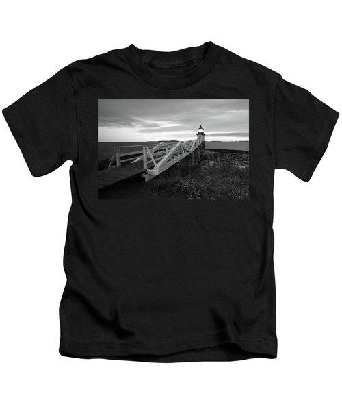 Marshall Point Light Kids T-Shirt