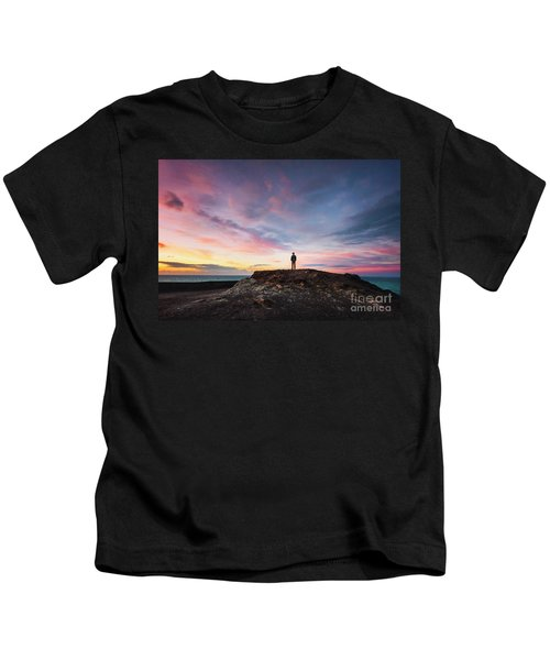 On The Wings Of Light Kids T-Shirt