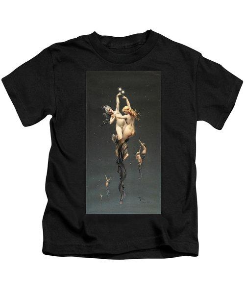 Twin Stars Kids T-Shirt