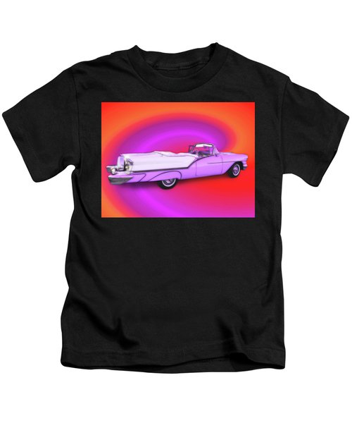 1957 Oldsmobile 98 Starfire Kids T-Shirt