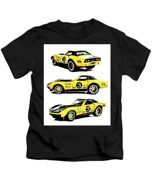 1969 Chevrolet Copo Corvette Kids T-Shirt