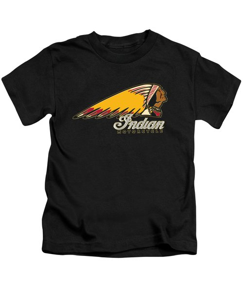 Indian Motorcycle Logo 1 Kids T-Shirt
