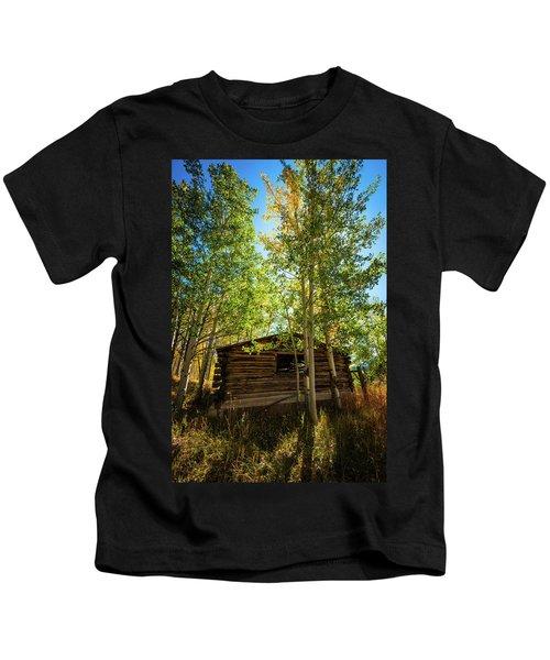 North Park Cabin Kids T-Shirt