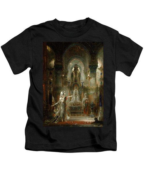 Salome Dancing Before Herod Kids T-Shirt