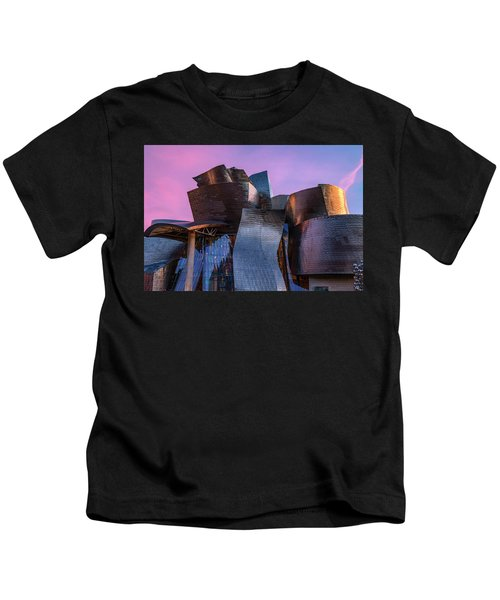 Guggenheim Museum - Bilbao, Spain Kids T-Shirt