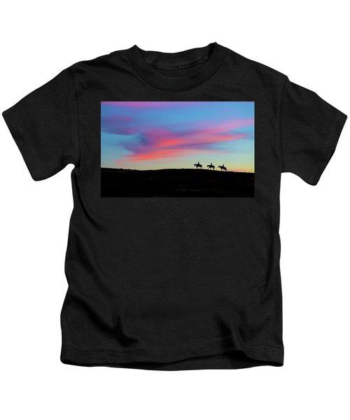 3 Horsemen Kids T-Shirt