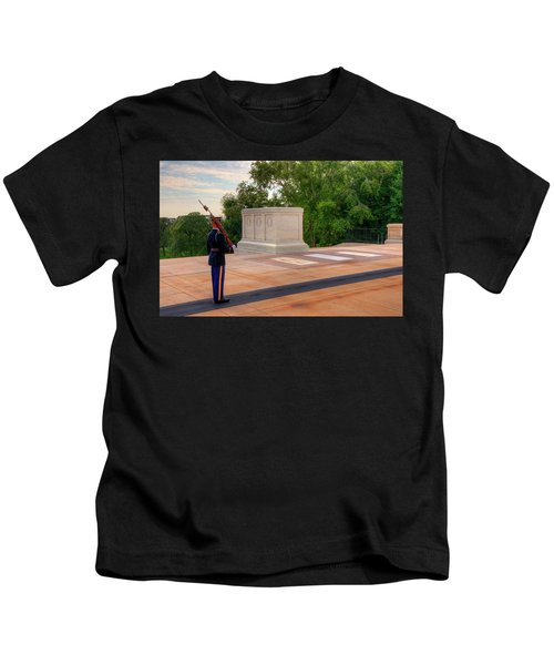 Tomb Of The Unknown Soldier Kids T-Shirt