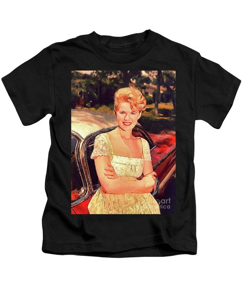 Connie Stevens, Vintage Actress Kids T-Shirt