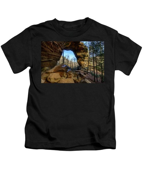 A Hole In Time Kids T-Shirt