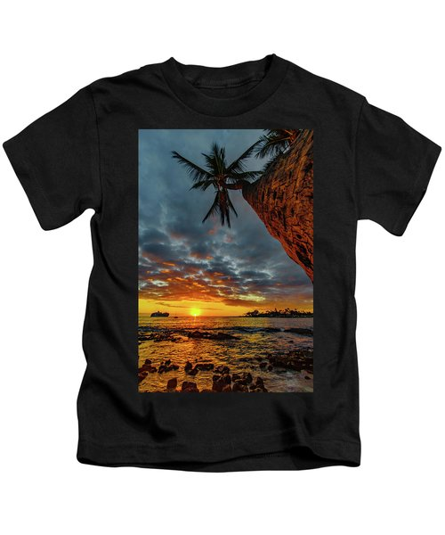 A Typical Wednesday Sunset Kids T-Shirt