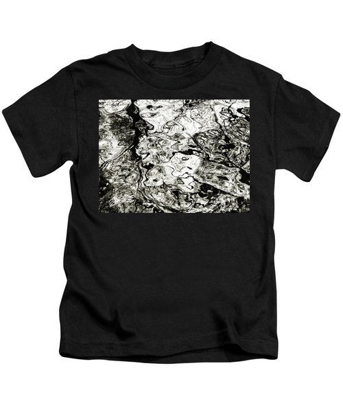 Abstract Expressionism In Nature Kids T-Shirt