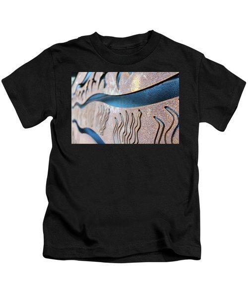 Abstract Lake Patricia Sign 1 Kids T-Shirt