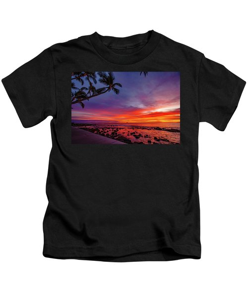 After Sunset Vibrance Kids T-Shirt
