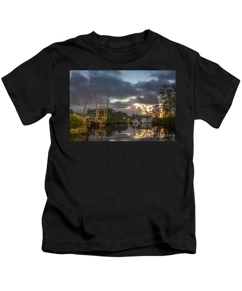 After The Storm Sunrise Kids T-Shirt