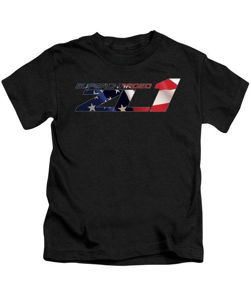 All American Zl1 Kids T-Shirt