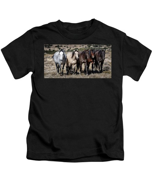 All In A Row Kids T-Shirt