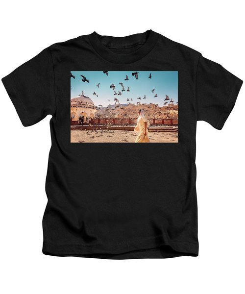 Amber Fortress Kids T-Shirt