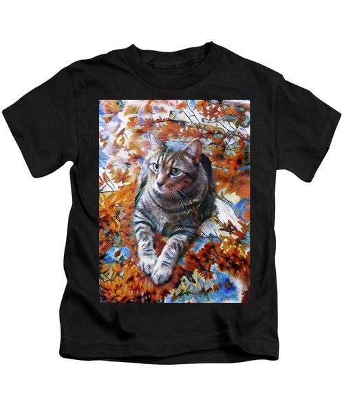 Amos In Flowers Kids T-Shirt