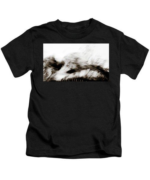 Angry Abstract Kids T-Shirt