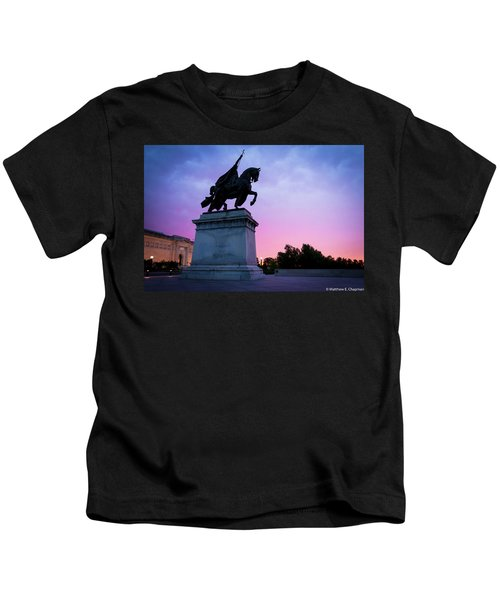 Apotheosis Of St. Louis, King Of France Kids T-Shirt